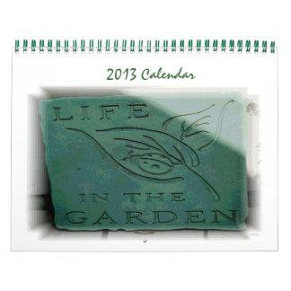 Vida en el jardín calendario