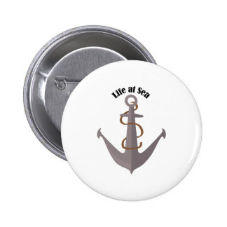 Vida en el mar chapa redonda 5 cm