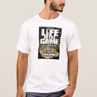 Vida en la camiseta de la película del juego