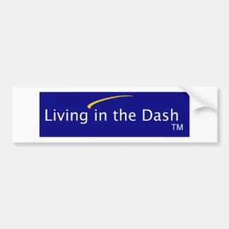 Vida en la pegatina para el parachoques de la roci pegatina para auto