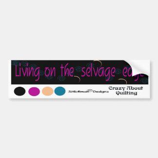 Vida en la pegatina para el parachoques del borde pegatina de parachoque
