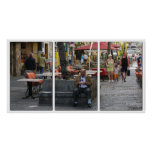 Vida en las calles, poster del tríptico