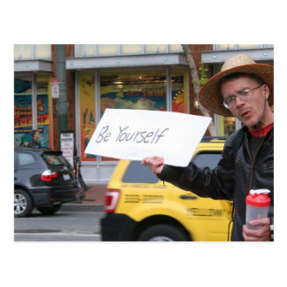 Vida en las calles tarjeta postal