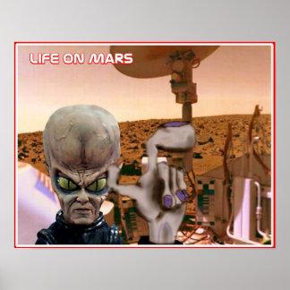 Vida en Marte Póster