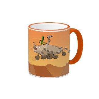 Vida extranjera en la taza de Marte