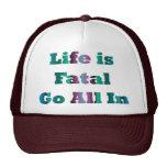 Vida fatal gorra