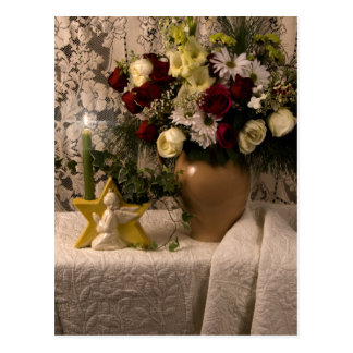 Vida floral del florero de 2162 ángeles aún tarjetas postales