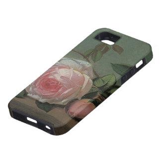 Vida floral del Victorian del vintage aún rosas r iPhone 5 Carcasas