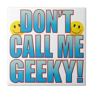 Vida Geeky B de la llamada Azulejo Cuadrado Pequeño