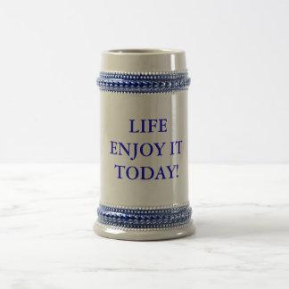 Vida - goce de él hoy - taza
