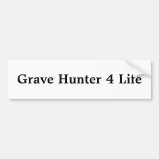 Vida grave del cazador 4 pegatina para auto