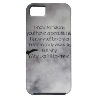 Vida hermosa - caja negra de Iphone 5 de las Funda Para iPhone 5 Tough