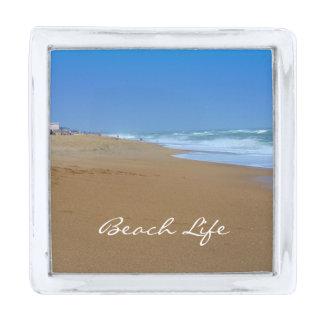 Vida hermosa de la Playa-Playa de Shirley Taylor Insignia Plateada