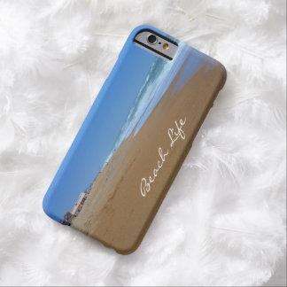 Vida hermosa de la Playa-Playa Funda De iPhone 6 Barely There