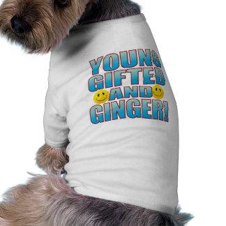 Vida joven B del jengibre T-shirt De Perrito