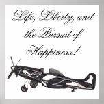 Vida, libertad, y la búsqueda de la felicidad póster