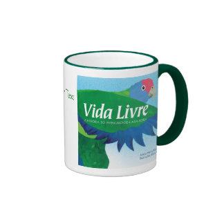 """""""Vida Livre"""" Book Cover Art Coffee Mugs"""