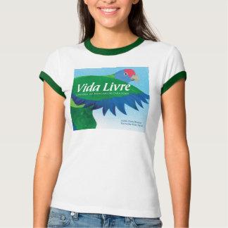 """Vida Livre"" Book Cover Art T-shirt"