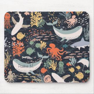 Vida marina alfombrillas de ratón
