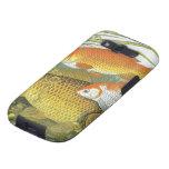 Vida marina marina del vintage, Goldfish acuático Galaxy S3 Protectores