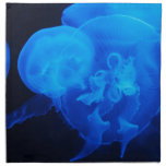 Vida marina servilleta imprimida