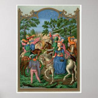 Vida medieval póster
