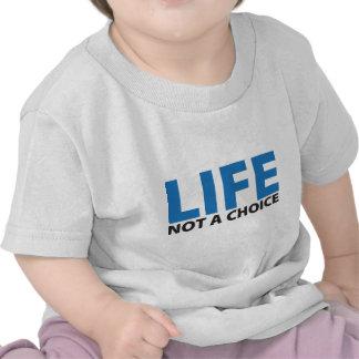 VIDA: No una opción Camisetas