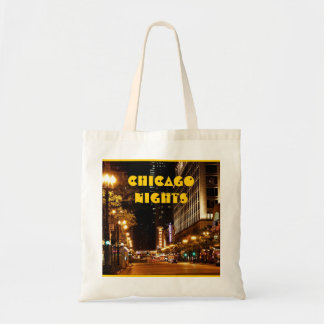vida nocturna de Chicago Bolsa Lienzo