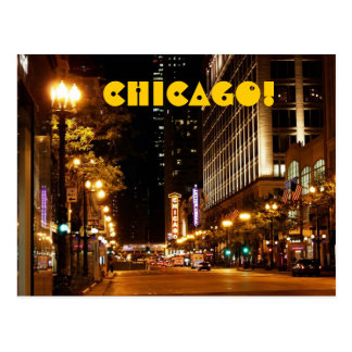 vida nocturna de Chicago Postal