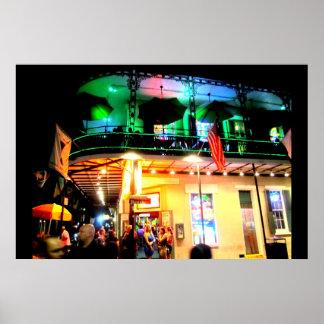Vida nocturna de New Orleans Poster