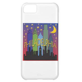 Vida nocturna del horizonte de Philadelphia Funda Para iPhone 5C