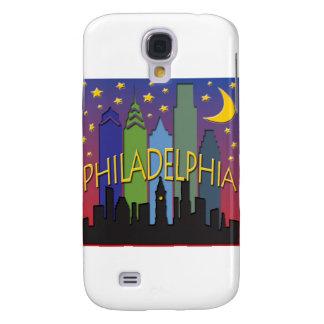 Vida nocturna del horizonte de Philadelphia Funda Para Galaxy S4
