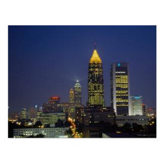 Vida nocturna emocionante, Atlanta, Georgia, los Postal