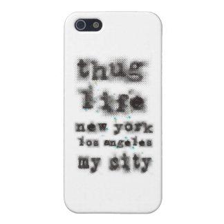 Vida Nueva York Los Ángeles del gamberro mi ciudad iPhone 5 Carcasas