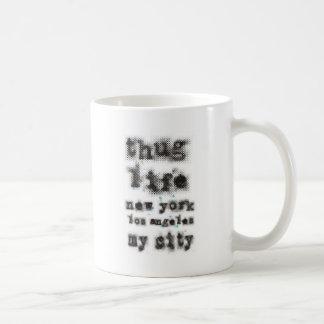 Vida Nueva York Los Ángeles del gamberro mi ciudad Tazas De Café