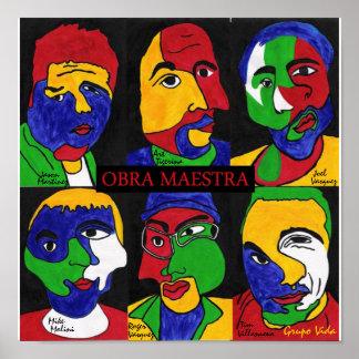 VIDA OBRA Album Poster