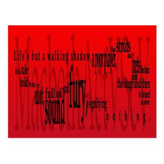 """""""Vida pero una sombra que camina"""" Macbeth Shakespe"""