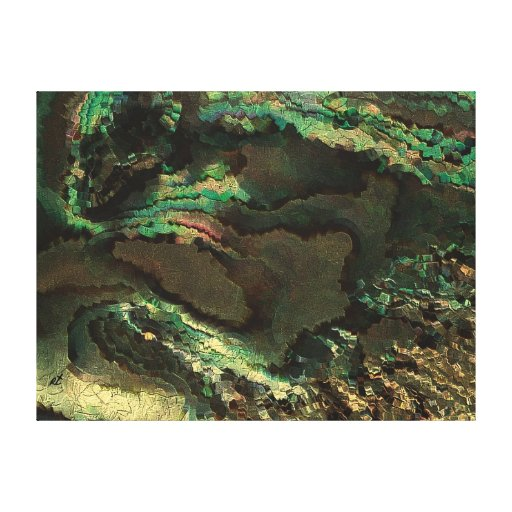 Vida primordial por el rafi talby impresiones en lona estiradas