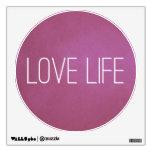 Vida púrpura del amor