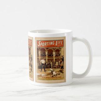 Vida que se divierte taza de café