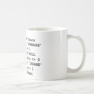 Vida real SQL Taza De Café