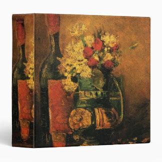 """Vida romántica de Van Gogh aún con los rosas y el Carpeta 1 1/2"""""""