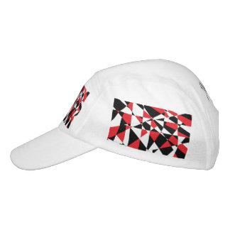 Vida rota tricolora gorra de alto rendimiento