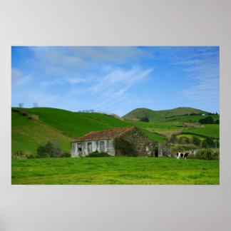 Vida rural poster