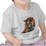 Vida salvaje de los tigres camiseta