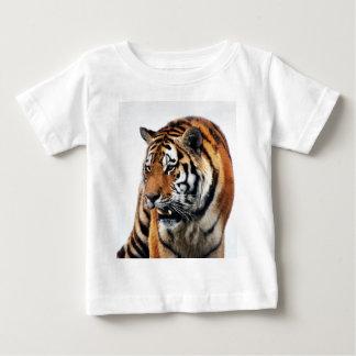 Vida salvaje de los tigres playera de bebé