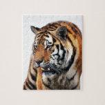 Vida salvaje de los tigres puzzle con fotos