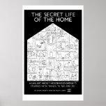 Vida secreta del poster casero