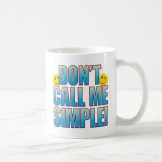 Vida simple B de la llamada Taza Clásica