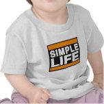 vida simple orange.png camiseta